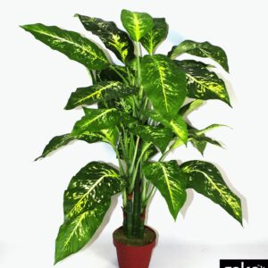 Artificial X-Large 100cm Aglaonema Costatum Plant
