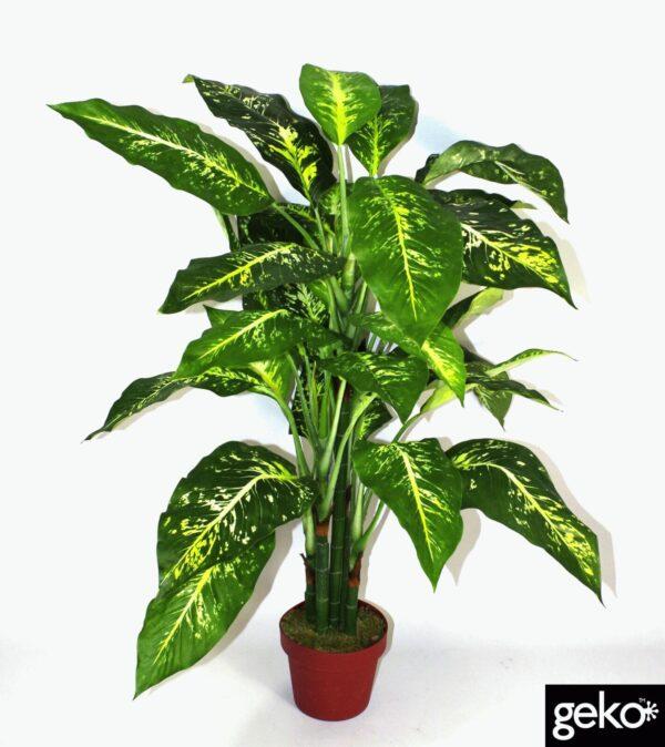 Artificial X-Large 100cm Aglaonema Costatum Plant