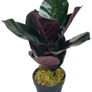 Artificial Rubber Plant 41cm