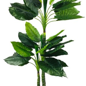 Artificial Taro Tree With 3 Trunks 150cm