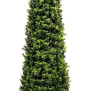 Fake Boxwood Trees