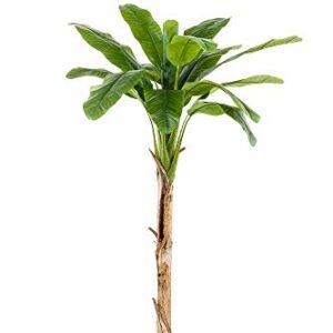 artplants.de Faux Banana plant BAGHEERA, 6ft/180cm - Silk banana tree/Artificial banana plant
