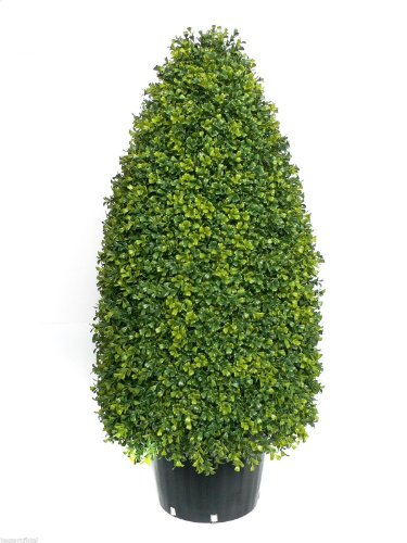 Best Artificial 75cm Topiary Cone Boxwood Buxus Tree