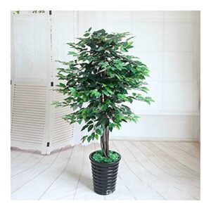 ZXC Home Artificial Plants Greenery 160cm Banyan Tree Potted Plants Bonsai Indoor Decoration Fake Plants Artificial Tree Fake Tree