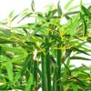 INMOZATA Artificial Bamboo Tree Artificial Tree Fake Decorative Plants 6ft/180cm High in Pot for Indoor Outdoor Garden