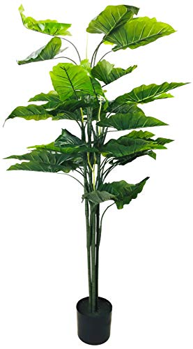 Geko Artificial Taro Tree 145cm, Green, Large, One Size