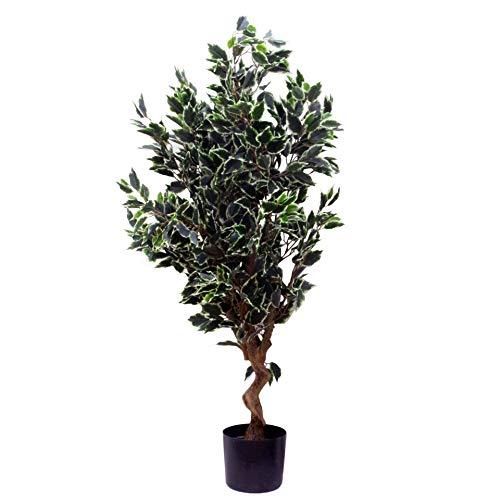 Leaf Artificial Tree, Evergreen Ficus, 110cm