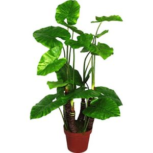 Geko 1-Piece Extra-Large 105 cm Artificial Taro Plant
