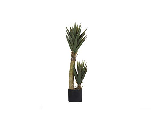 Beliani Artificial Potted Aloe Vera Plant