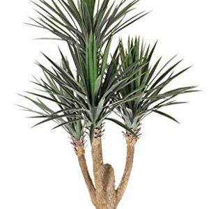 artplants.de Fake Yucca rostrata JIMENA, 4ft/115cm - Artificial yucca plant/Faux tree