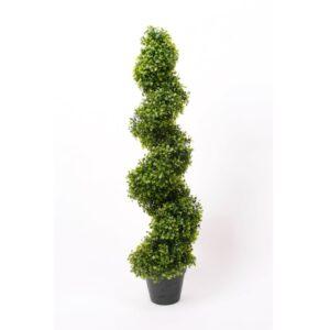 Emerald Artificial Boxwood Spiral Topiary 2 pcs Green 95 cm 17.171C