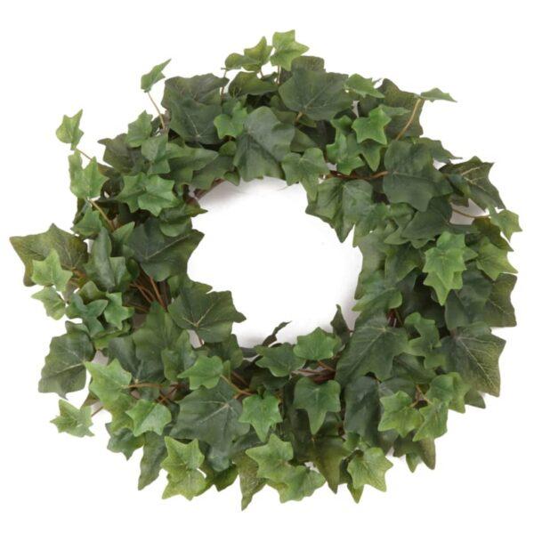 Emerald Artificial Ivy Wreath Green 35 cm 415382