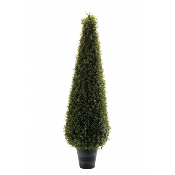Emerald Artificial Boxwood Pyramid 135 cm