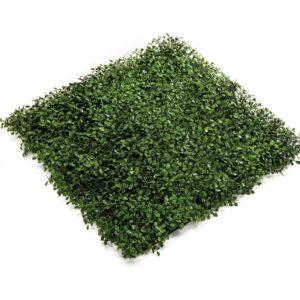 Emerald Artificial Grass Boxwood Mats 4 pcs Green 50x50 cm