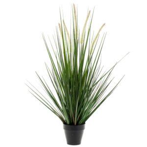 Emerald Artificial Alopecurus Grass Green 120 cm 418166