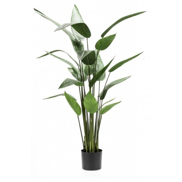 Emerald Artificial Heliconia Plant Green 125 cm 419837