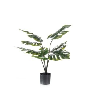 Emerald Artificial Monstera Plant 85 cm in Pot