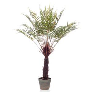Emerald Artificial Dicksonia Tree Fern in Pot 80 cm