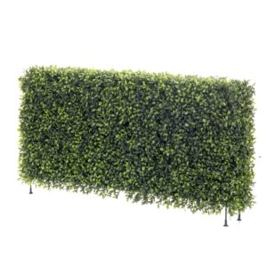 Emerald Artificial Boxwood Fence 100x20x25 cm