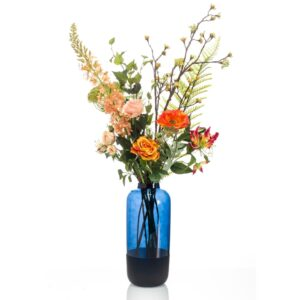 Emerald Artificial Bouquet Happy Orange XL