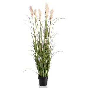 Emerald Artificial Pampas Grass in Pot 160 cm