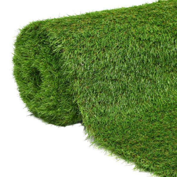 vidaXL Artificial Grass 1x5 m/40 mm Green