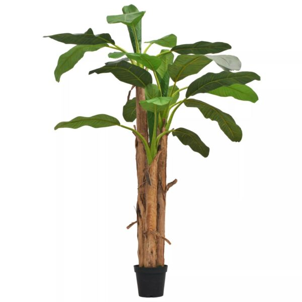 vidaXL Artificial Banana Tree with Pot 250 cm Green
