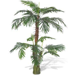 vidaXL Artificial Plant Cycus Palm Tree 150 cm