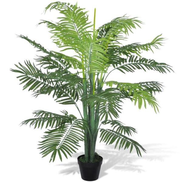 vidaXL Artificial Phoenix Palm Tree with Pot 130 cm