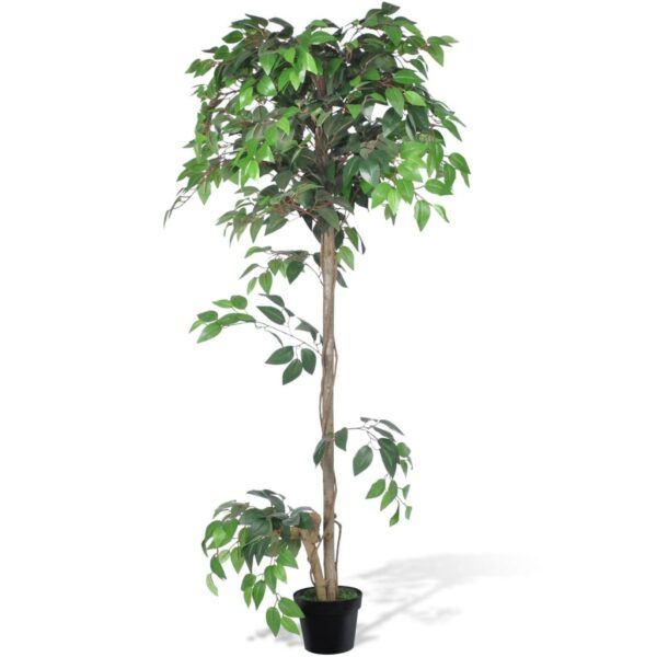 vidaXL Artificial Plant Ficus Tree with Pot 160 cm