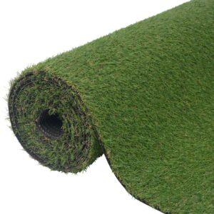 vidaXL Artificial Grass 1x15 m/20-25 mm Green