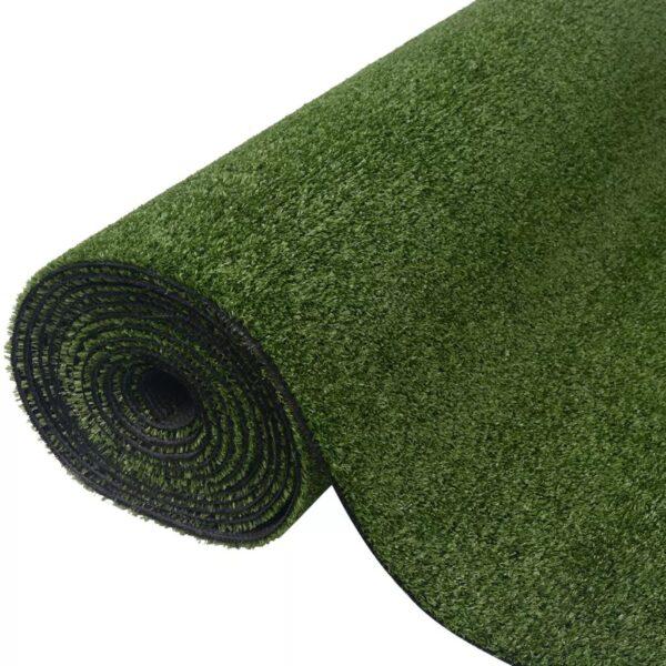vidaXL Artificial Grass 1x5 m/7-9 mm Green