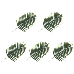 vidaXL Artificial Leaves Palm 5 pcs Green 95 cm