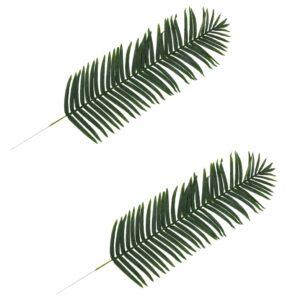 vidaXL Artificial Leaves Palm 2 pcs Green 160 cm
