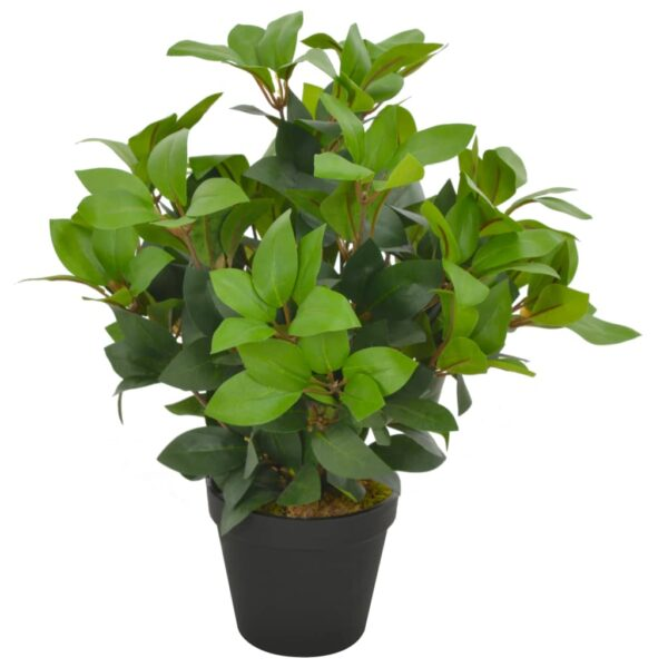 vidaXL Artificial Plant Laurel Tree with Pot Green 40 cm