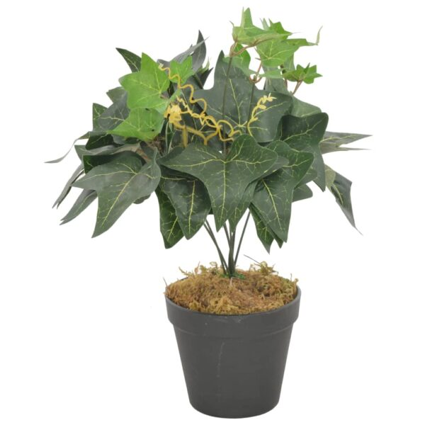 vidaXL Artificial Plant Ivy Leaves with Pot Green 45 cm