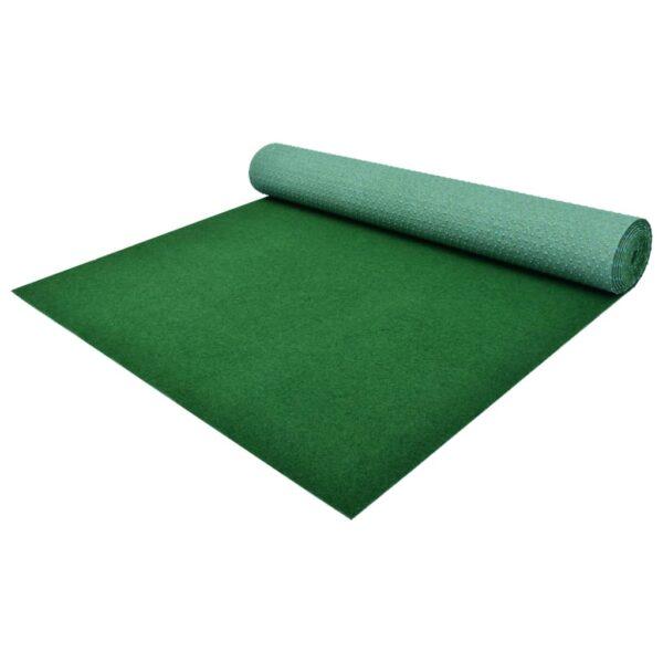 vidaXL Artificial Grass with Studs PP 3x1.33 m Green