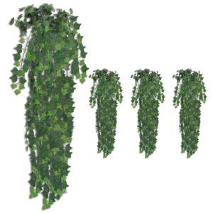 vidaXL Artificial Ivy Bushes 4 pcs Green 90 cm