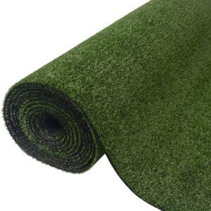 vidaXL Artificial Grass 1.5x15 m/7-9 mm Green