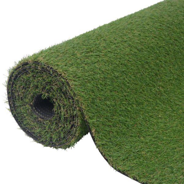 vidaXL Artificial Grass 1x15 m/20 mm Green