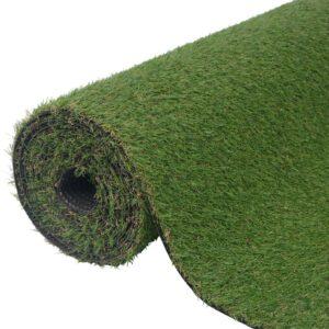 vidaXL Artificial Grass 1.33x10 m/20 mm Green