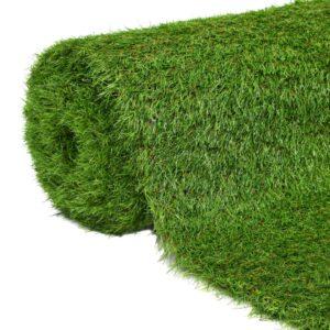 vidaXL Artificial Grass 1.33x8 m/40 mm Green
