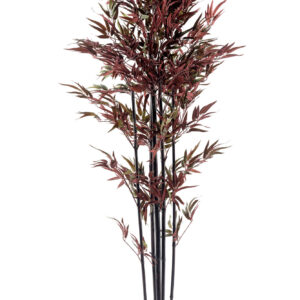 Bamboo Tree Red & Green 180cm