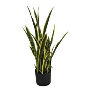 Artificial Sansweieria Plant, 32 leaves, 100cm