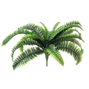 Silk Giant Boston Fern Bush - Green Artificial Plant