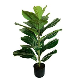 Artificial Fiddle Fig Leaf Tree