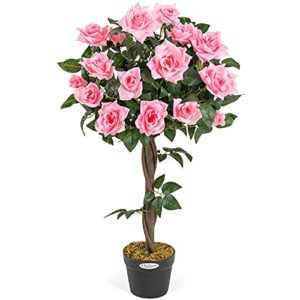 Artificial Rose Tree